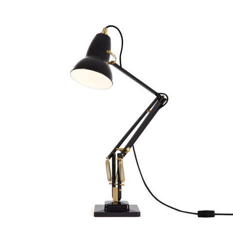 Anglepoise - Original 1227™ Brass Desk Lamp - Elephant Grey / One Size - Lekker Home