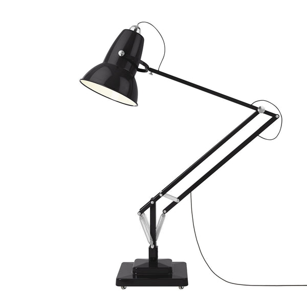 Anglepoise - Original 1227™ Giant Floor Lamp Outdoor - Gloss Jet Black / One Size - Lekker Home