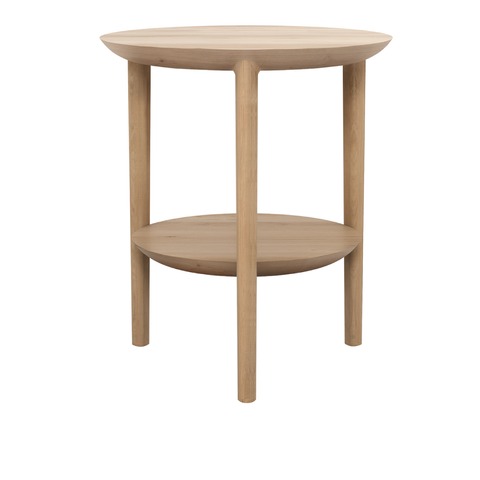 Ethnicraft NV - Bok Side Table - Natural Oak / One Size - Lekker Home