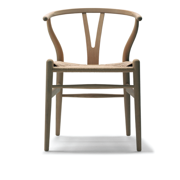 Carl Hansen - CH24 Wishbone Chair - Soap / Beech - Lekker Home