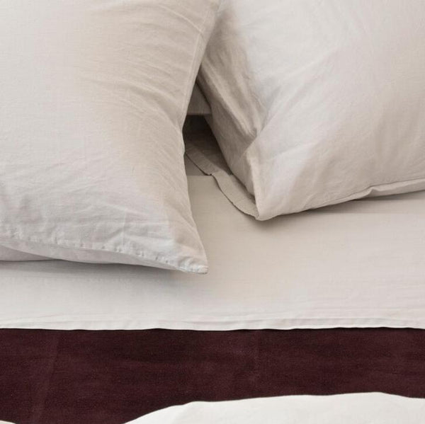 Area Bedding - Perla Bedding - Porcelain / Pair Standard Cases - Lekker Home