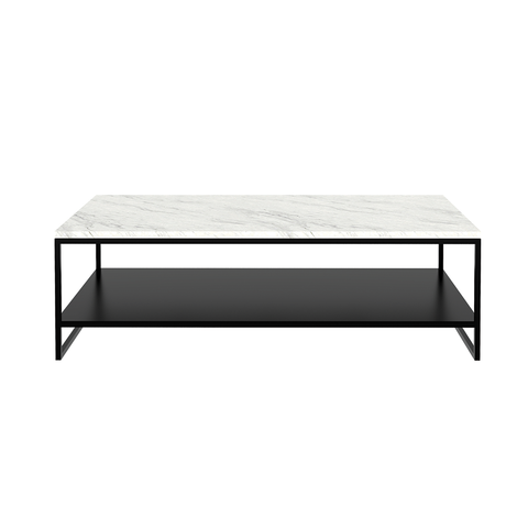 Ethnicraft NV - Stone Coffee Table - One Color / Rectangle - Lekker Home
