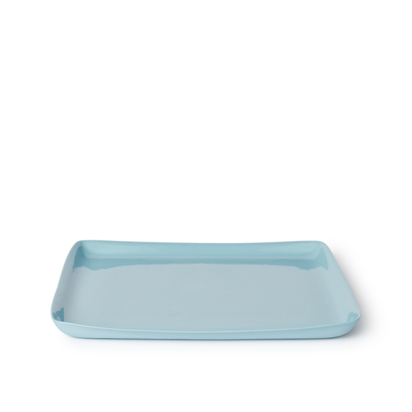 Large Square Tray | Duck Egg | MUD Australia