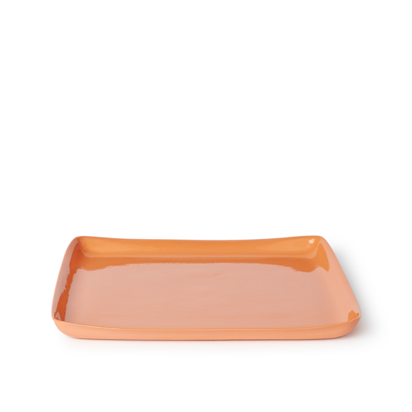 Large Square Tray | Orange | MUD Australia