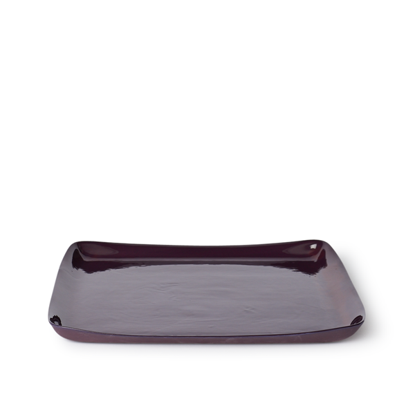 Large Square Tray | Plum | MUD Australia