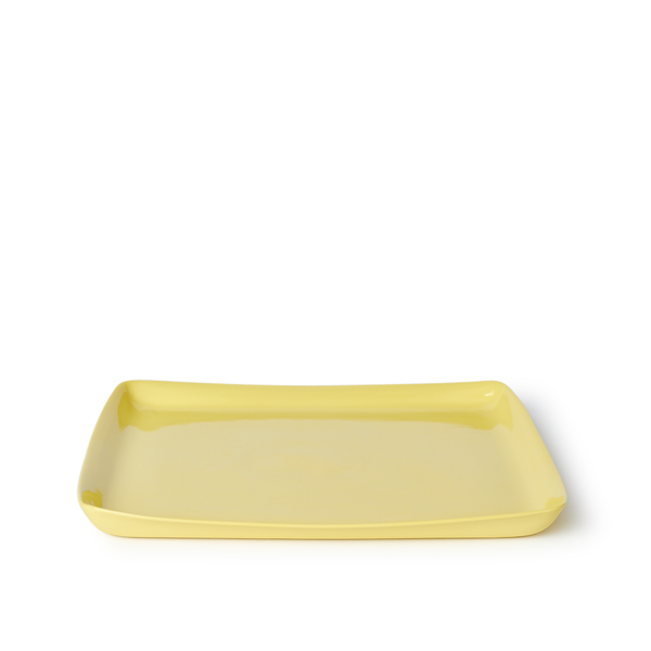 Large Square Tray | Yellow | MUD Australia