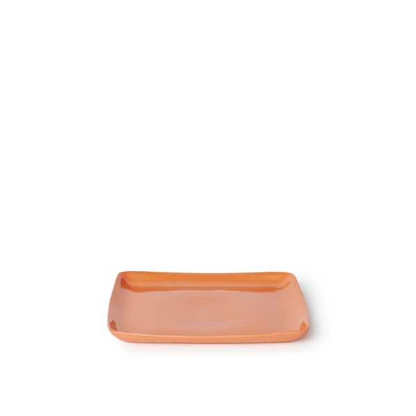 Medium Square Tray | Orange | MUD Australia
