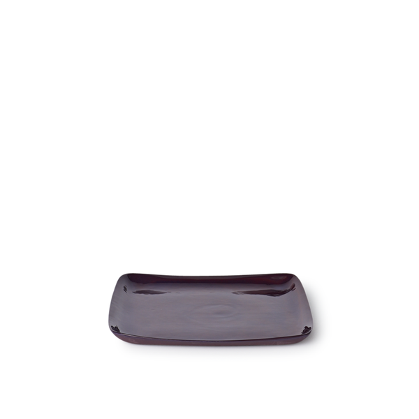 Medium Square Tray | Plum | MUD Australia