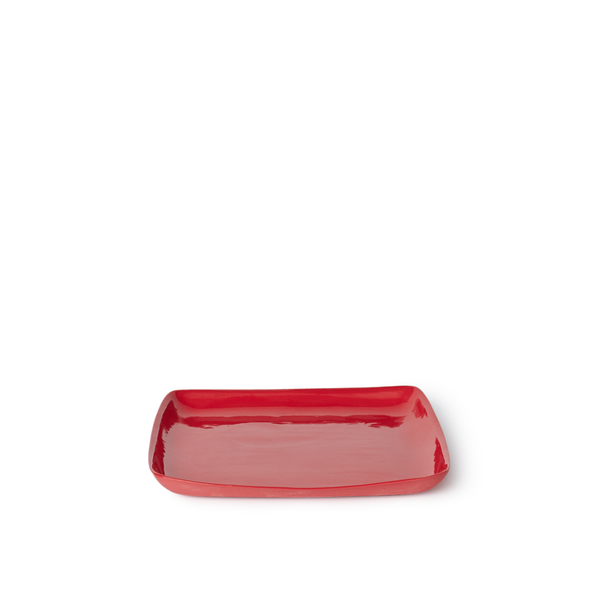 Medium Square Tray | Red | MUD Australia