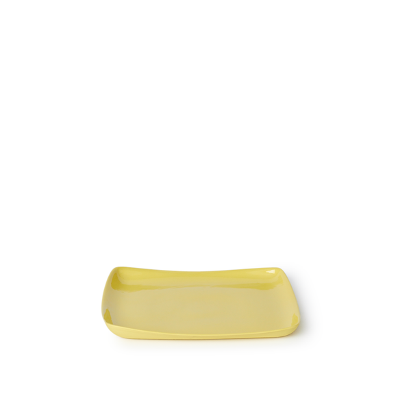 Medium Square Tray | Yellow | MUD Australia