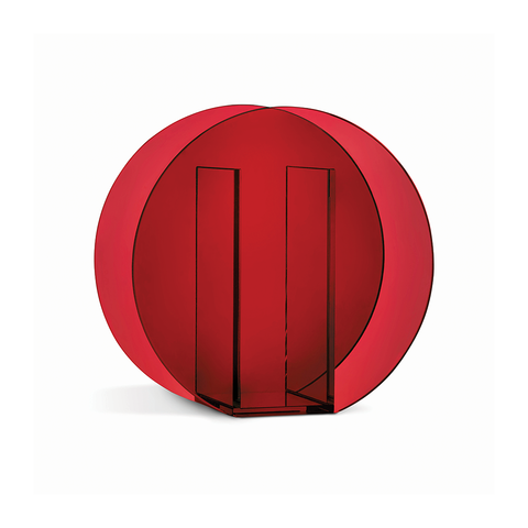 Klevering - Vase Circle Dark Red - - Lekker Home