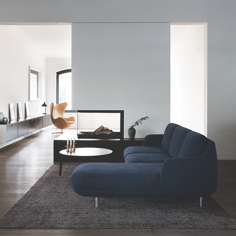 Fritz Hansen - Lune™ Sofa with Chaise - Lekker Home