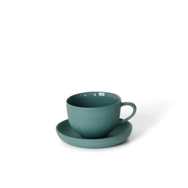 Round Teacup + Saucer | Bottle | MUD Australia