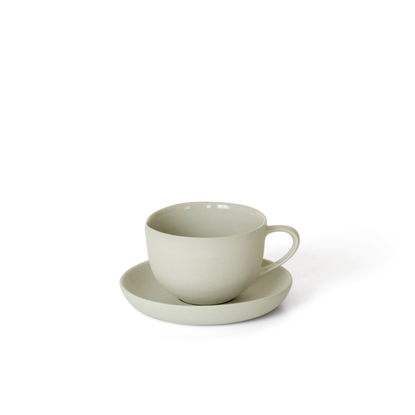 Round Teacup + Saucer | Dust | MUD Australia