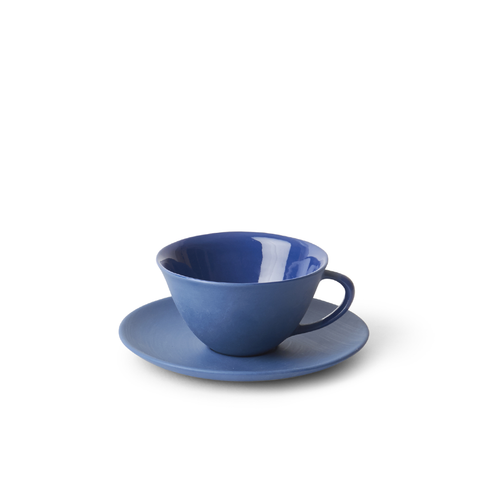 MUD Australia - MUD Teacup and Saucer - Steel / Teacup + Saucer - Lekker Home