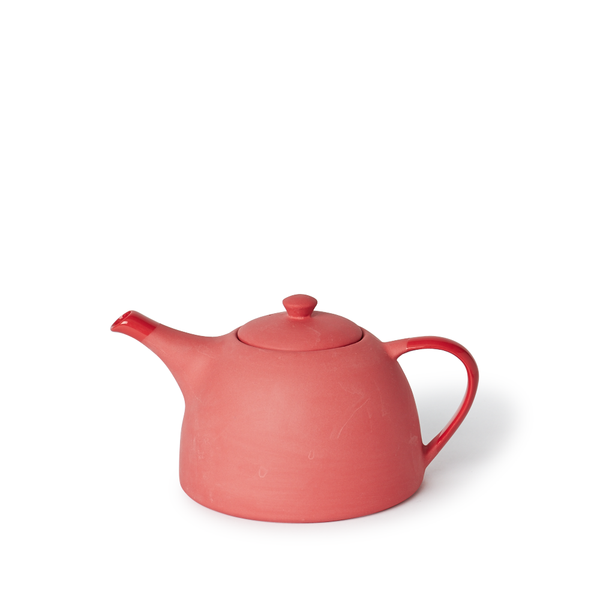MUD Australia - MUD Round Teapot - Red / One Size - Lekker Home