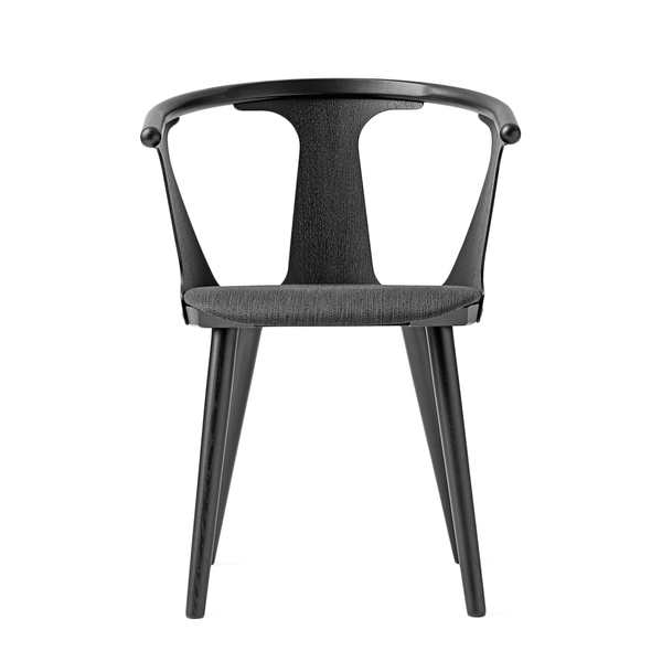 &Tradition - In Between Dining Chair - Black Lacquered Oak / Fabric - Lekker Home