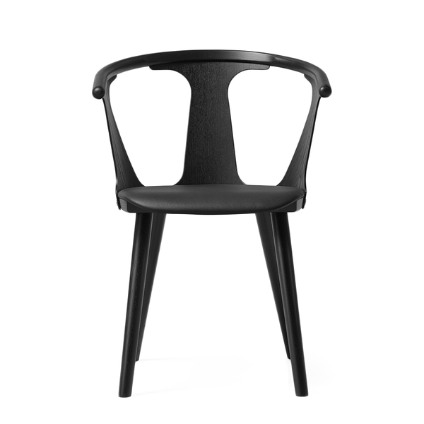 &Tradition - In Between Dining Chair - Black Lacquered Oak / Leather - Lekker Home