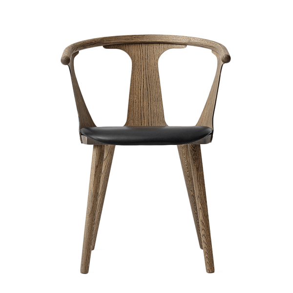 &Tradition - In Between Dining Chair - Smoked Oiled Oak / Leather - Lekker Home