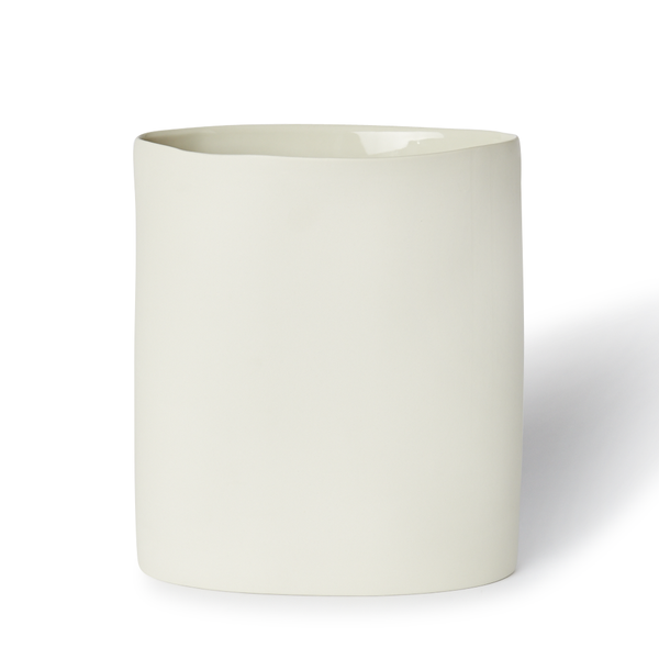 MUD Australia - MUD Oval Vase - Milk / Large - Lekker Home