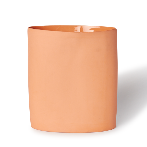 MUD Australia - MUD Oval Vase - Orange / Large - Lekker Home