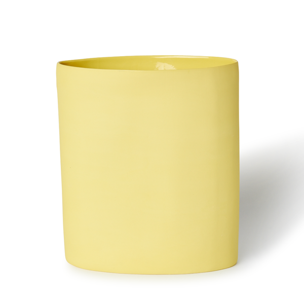 MUD Australia - MUD Oval Vase - Yellow / Large - Lekker Home