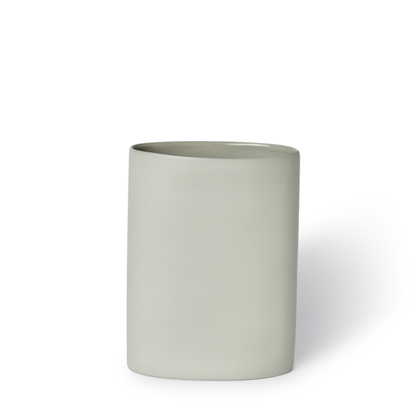 MUD Australia - MUD Oval Vase - Ash / Medium - Lekker Home