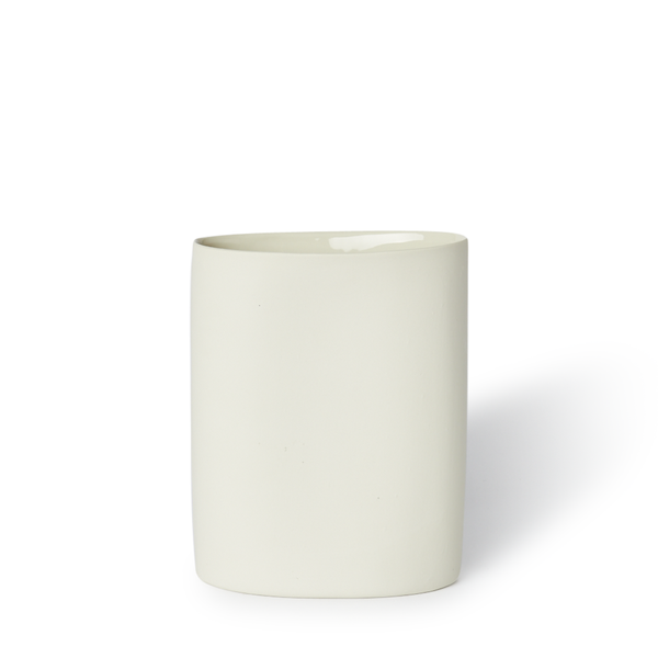 MUD Australia - MUD Oval Vase - Milk / Medium - Lekker Home