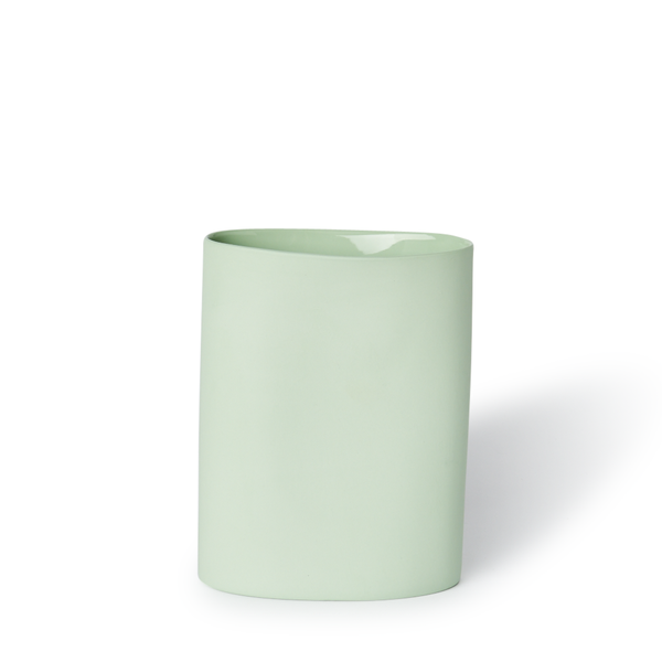 MUD Australia - MUD Oval Vase - Pistachio / Medium - Lekker Home
