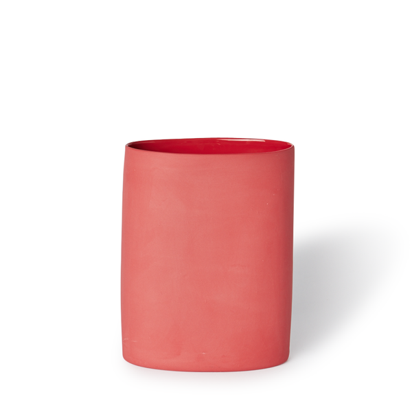 MUD Australia - MUD Oval Vase - Red / Medium - Lekker Home