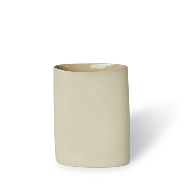 MUD Australia - MUD Oval Vase - Sand / Medium - Lekker Home