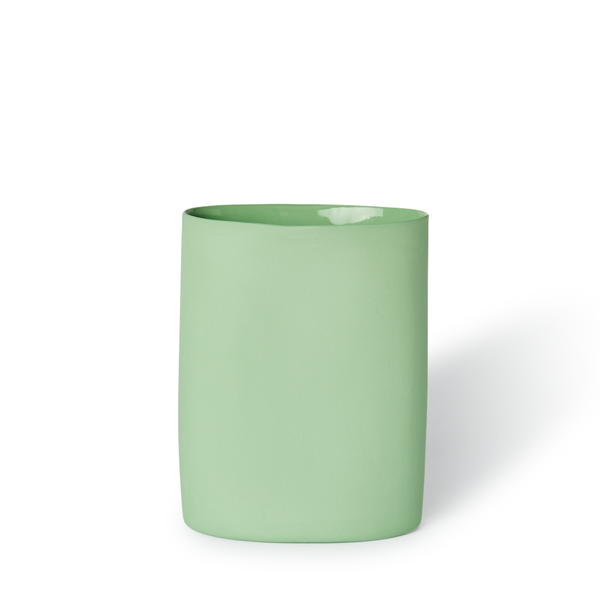 MUD Australia - MUD Oval Vase - Wasabi / Medium - Lekker Home