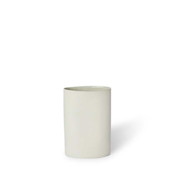 MUD Australia - MUD Oval Vase - Dust / Small - Lekker Home