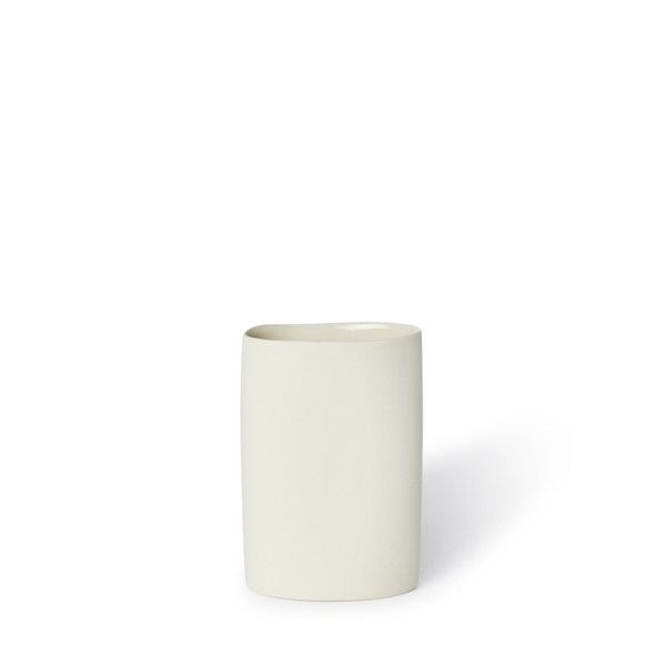 MUD Australia - MUD Oval Vase - Milk / Small - Lekker Home