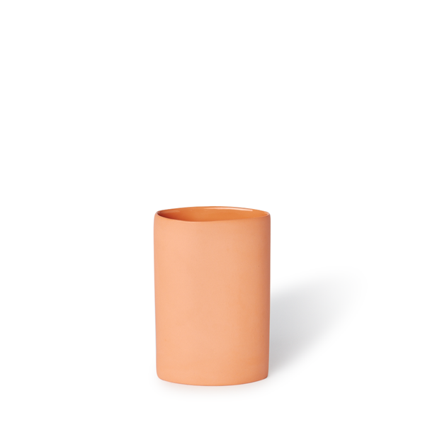 MUD Australia - MUD Oval Vase - Orange / Small - Lekker Home