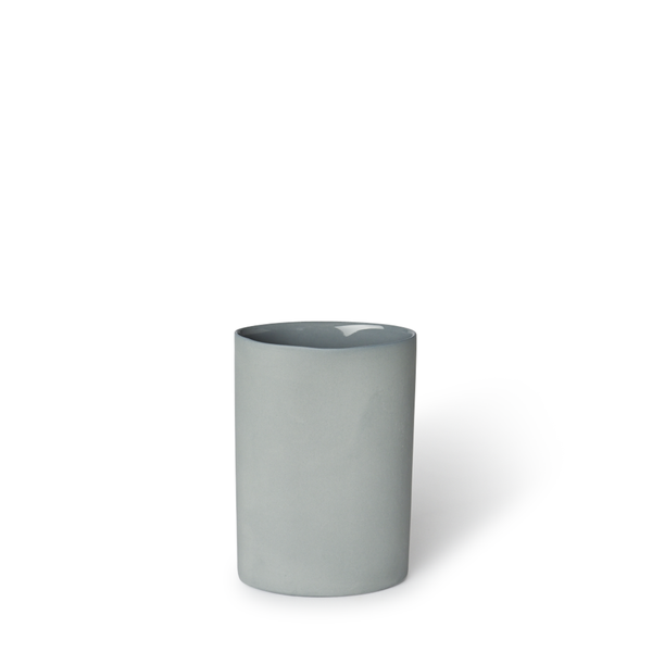 MUD Australia - MUD Oval Vase - Steel / Small - Lekker Home