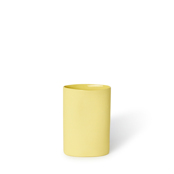 MUD Australia - MUD Oval Vase - Yellow / Small - Lekker Home