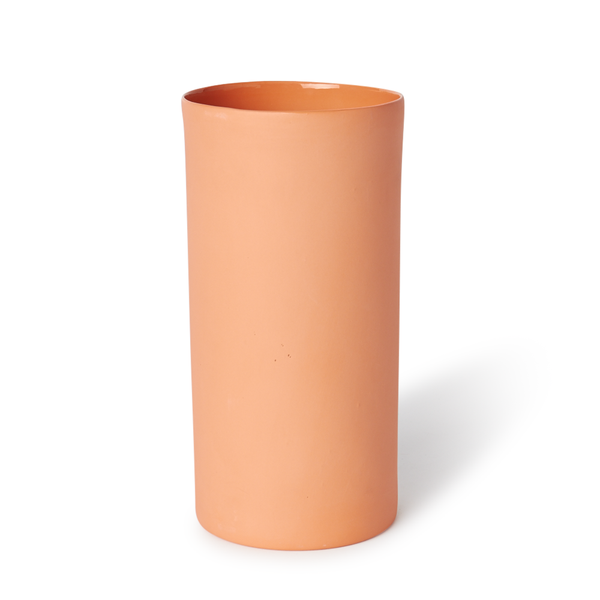 Large Round Vase | Orange | MUD Australia