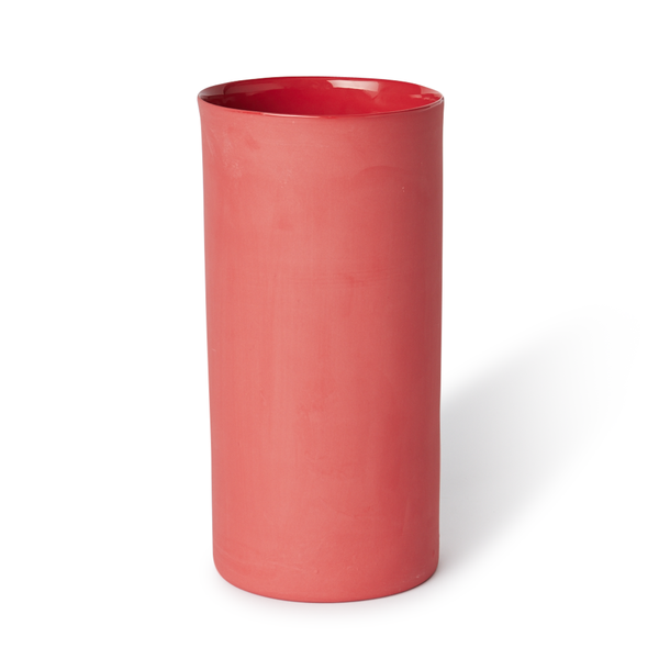 Large Round Vase | Red | MUD Australia