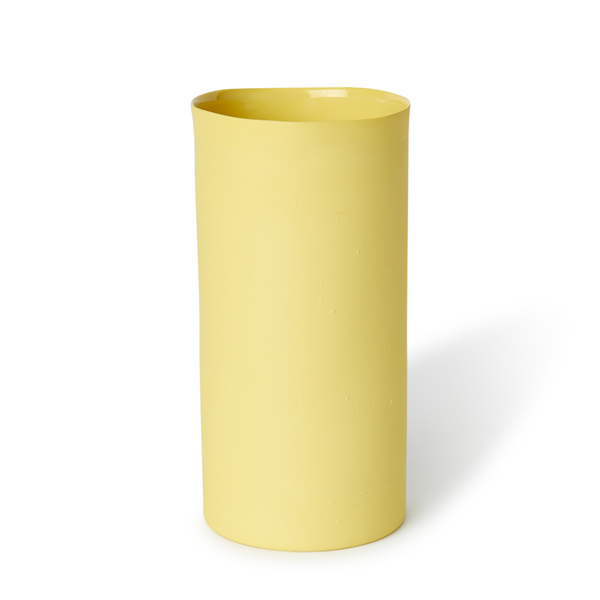 Large Round Vase | Yellow | MUD Australia