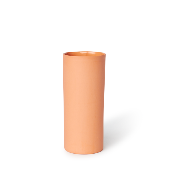MUD Australia - MUD Round Vase - Orange / Medium - Lekker Home