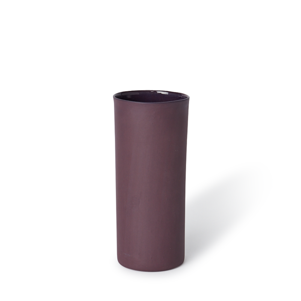 Medium Round Vase | Plum | MUD Australia