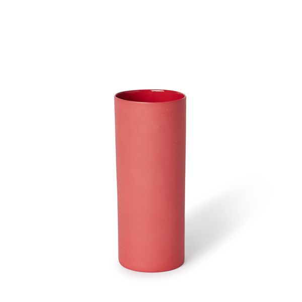 MUD Australia - MUD Round Vase - Red / Medium - Lekker Home
