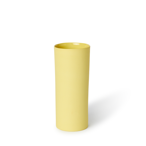 Medium Round Vase | Yellow | MUD Australia