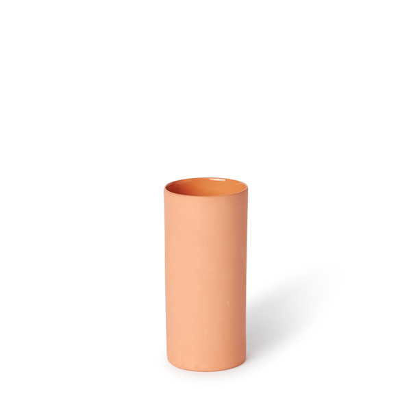 MUD Australia - MUD Round Vase - Orange / Small - Lekker Home