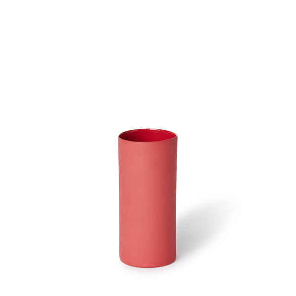 Small Round Vase | Red | MUD Australia