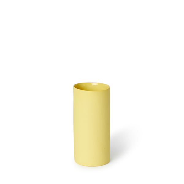 Small Round Vase | Yellow | MUD Australia