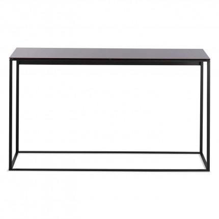 Blu Dot - Minimalista Console Table - Black Mirror / Black - Lekker Home