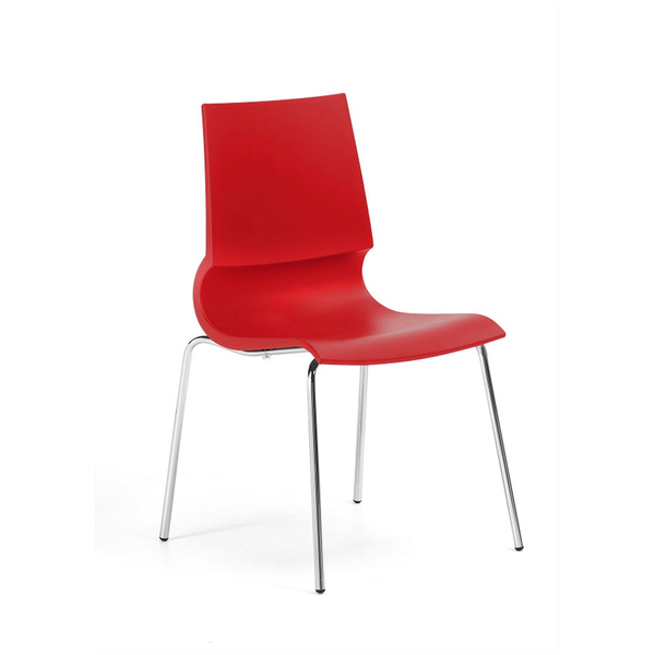 Knoll - Gigi® Armless Stacking Chair - Lekker Home - 1