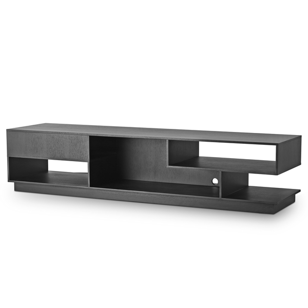 Eilersen - Penthouse TV Cabinet - Lacquered Black Oak / One Size - Lekker Home